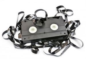 Kaputte VHS-Kassette