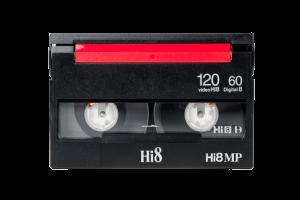 Hi8 Kassette ohne Hülle