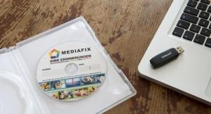 Digitalisierte Fotos auf USB-Stick oder DVD speichern