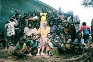 Gruppenfoto mit Ureinwohnern
