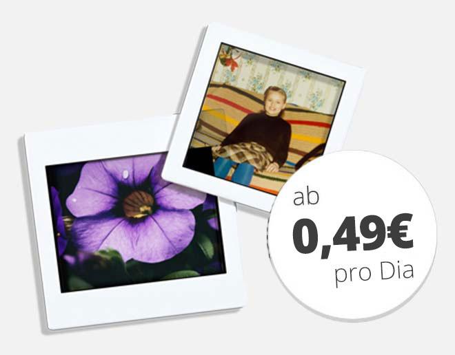 Mittelformate digitalisieren ab 0,49 € pro Bild