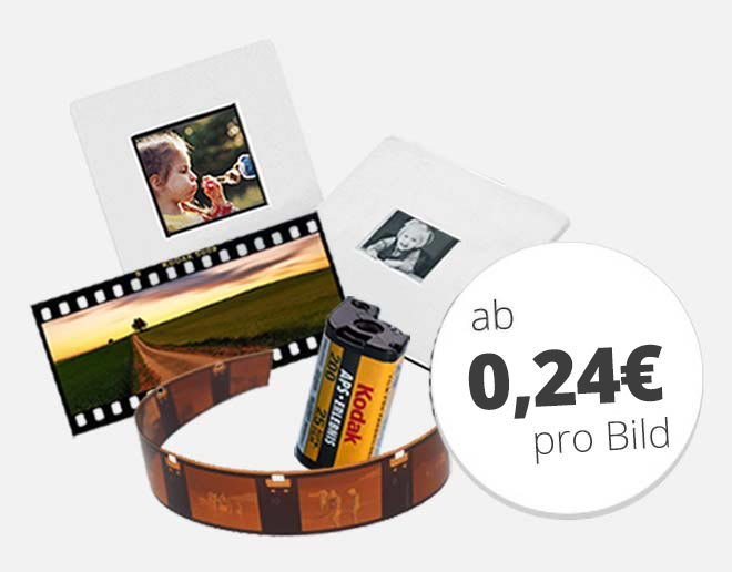 Sonderformate ab 0,24 € pro Bild